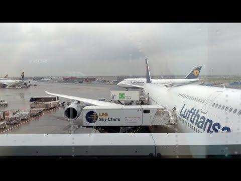 TRIP REPORT | Lufthansa Boeing 747-8i | ECONOMY CLASS | Frankfurt - Chicago O'hare (FRA - ORD)