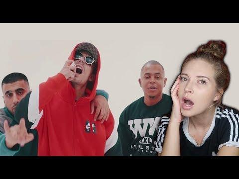 AMERICAN REACTS to Capital Bra ft. Luciano & Eno - Roli Glitzer Glitzer
