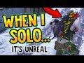 WHAT HAPPENS WHEN I SOLO - The Division Dark Zone