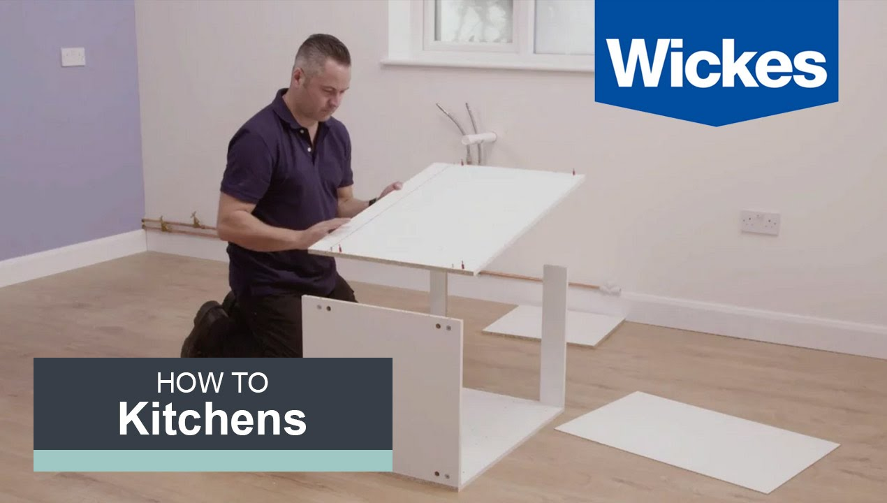 how to install kitchen island cabinets how to build a kitchen cabinet with wickes 26886