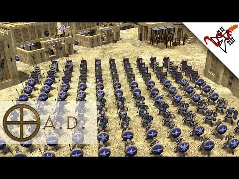 0 A.D. - Persians Civilisation Gameplay Preview | Alpha 15 Osiris [1080p/HD]