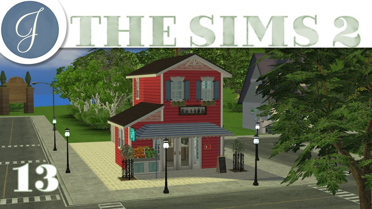 Lets Play The Sims 2 All In One Gameplay Kathy Buys General Store Mods CC Part 13