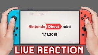 Nintendo Direct Mini 1.11.2018 Live Reaction
