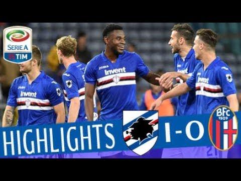 Sampdoria - Bologna 1-0 - Highlights - Giornata 33 - Serie A TIM 2017/18