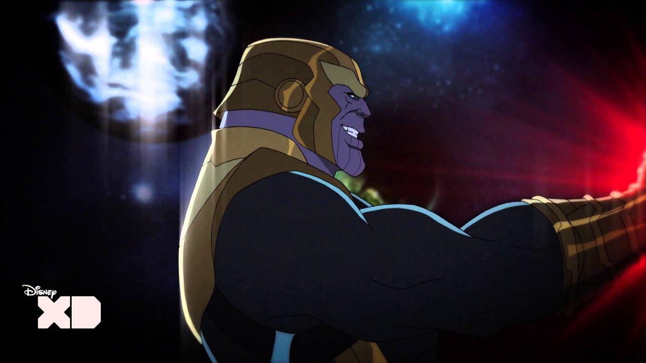 Avengers Animated Wallpaper Avengers Assemble Captain America Sees Thanos Disney