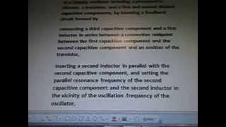 Line 22 7b97x1 Colpitts Triode Oscillator  Communications 1  Formula 5g WOW SETI