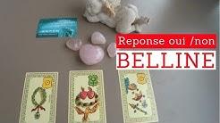 BELLINE RÉPONSE OUI NON A LA'MOUR - VOYANCE