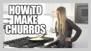 How To Make Churros! | iJustine