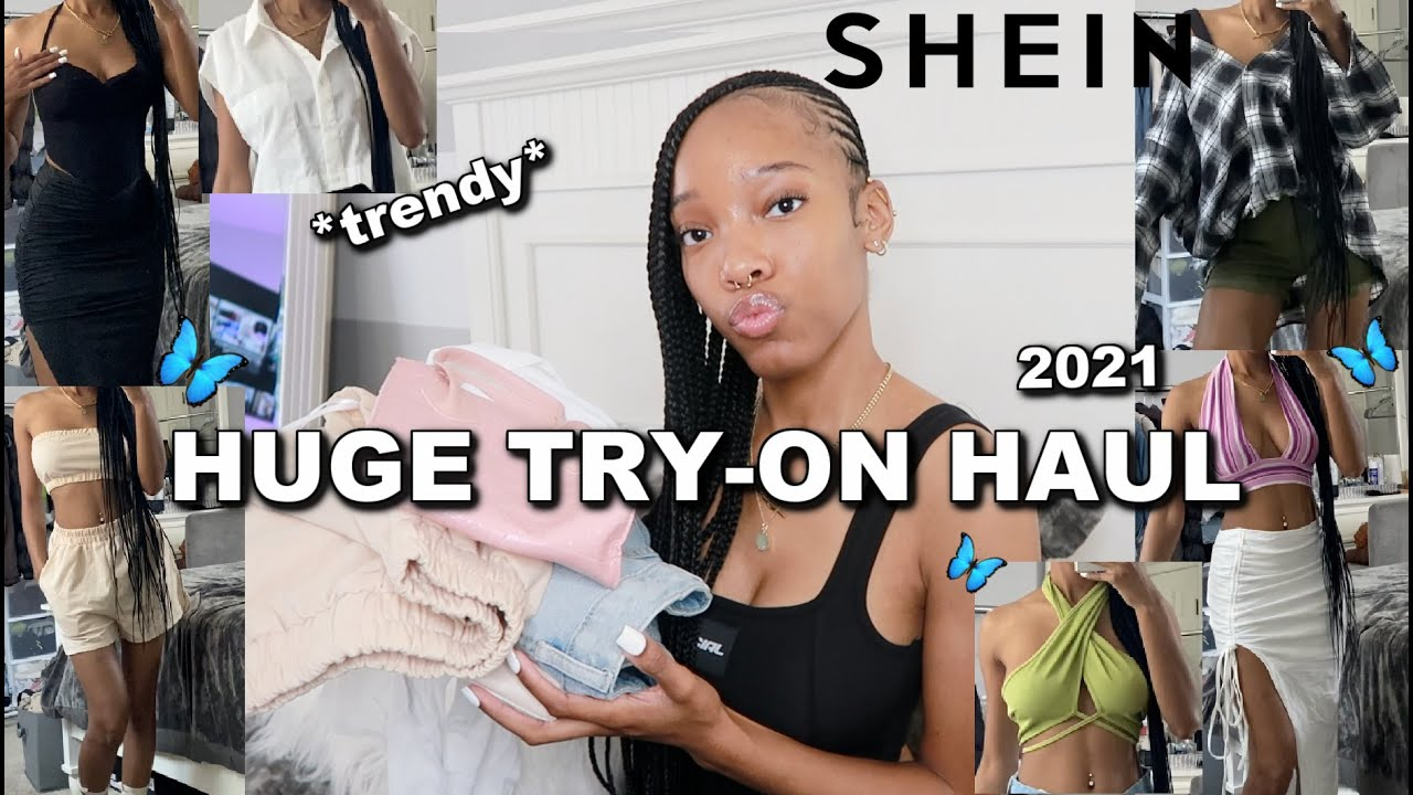 Download HUGE SHEIN TRY-ON HAUL 2021! (30+ items) *trendy*
