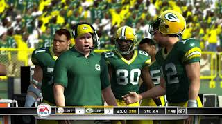 Madden NFL 11 PS3 Pittsburgh Steelers vs Green Bay Packers