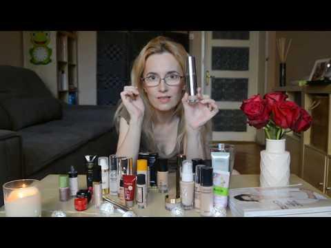 Make-Up Collection Foundations Haul, colectia de fonduri de ten