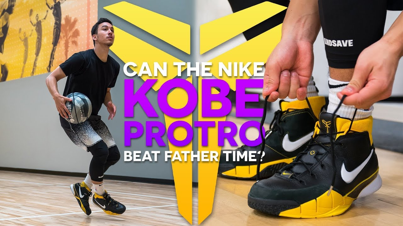 e2b8eb40ff0 NIKE KOBE 1 PROTRO REVIEW   PERFORMANCE TEST - YouTube