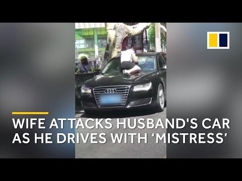 Chinese woman attacks