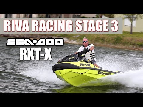 83 MPH Sea-Doo RXT-X With Riva Racing Stage 3 Performance Kit