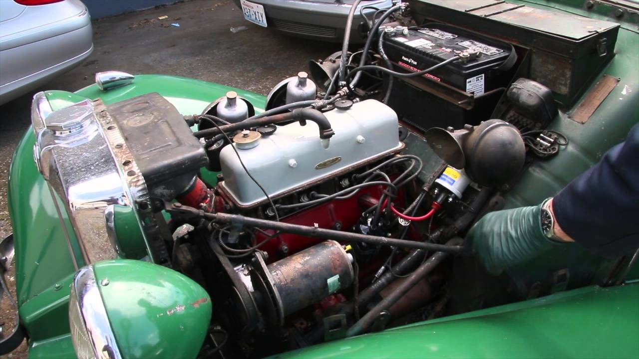 Fuse Box Clean See A Clean Original Mg Td Engine How To Learn More