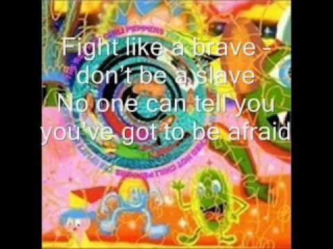 Fight Like a Brave with Lyrics