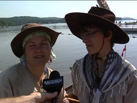Canoe Trip Departure North Bay , Video from COGECO NORTH BAY