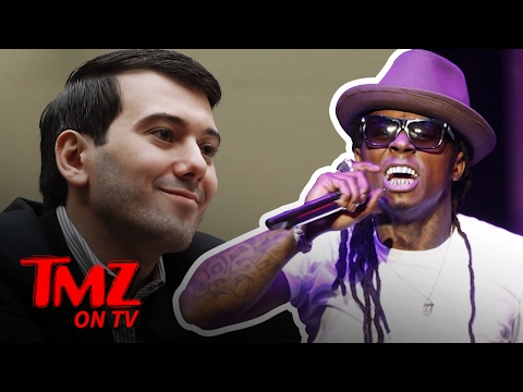 Lil Wayne is Pissed at Martin Shkreli | TMZ TV