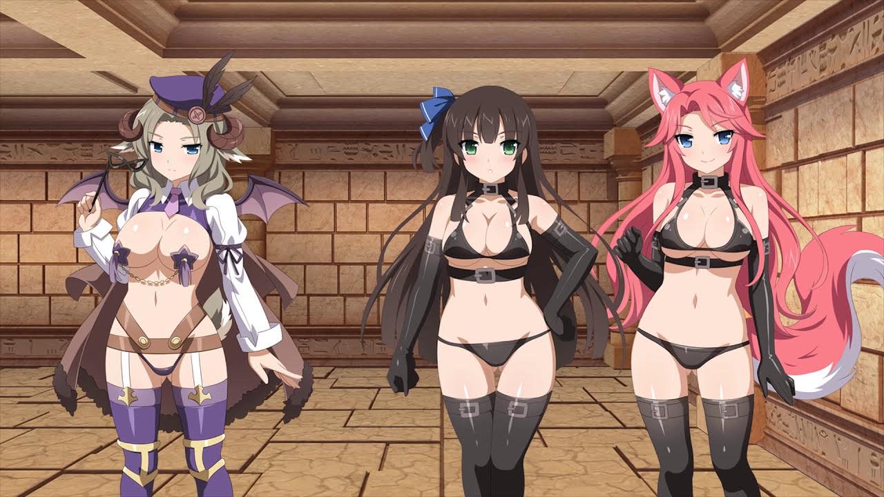 Sakura dungeon hentai anime rpg fantasy game trailer - 2 part 3