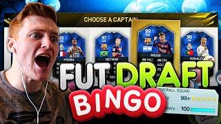 FIFA 16 - 199+ RATED FUT DRAFT BINGO!!!