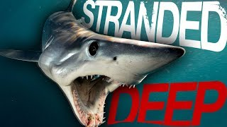Hunting The Megalodon & Giant Squid - Stranded Deep Bounty Hunter (New Missions)