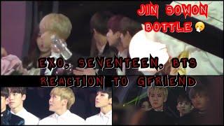 161119 방탄소년단 (BTS), 엑소 (EXO), & 세븐틴 (SEVENTEEN) TO 여자친구 (GFR…