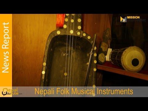 Nepali Folk Musical Instruments  || News Report || Nepalyoutube2017