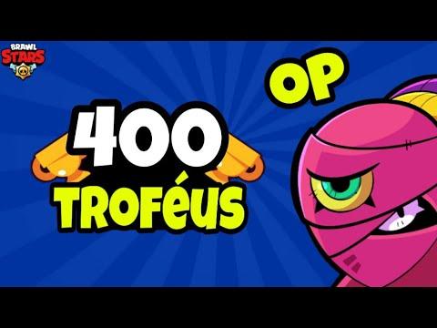 Consegui 400 Troféus Com Tara (OP) - Brawl Stars