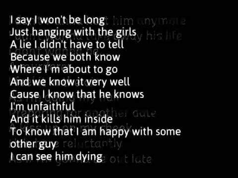 Rihanna - Unfaithful l... Rihanna Songs Lyrics