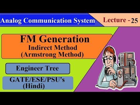Lec.- 25 FM Generation Indirect Method | Armstrong Method | Communication System