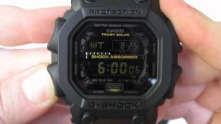 Casio G-Shock Big Digital Watch Unboxing - Matte Black - GX-56GB-1