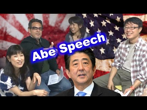Abe Speech to U.S. Congress (JNEWS!) with Tomoko & Special Guests