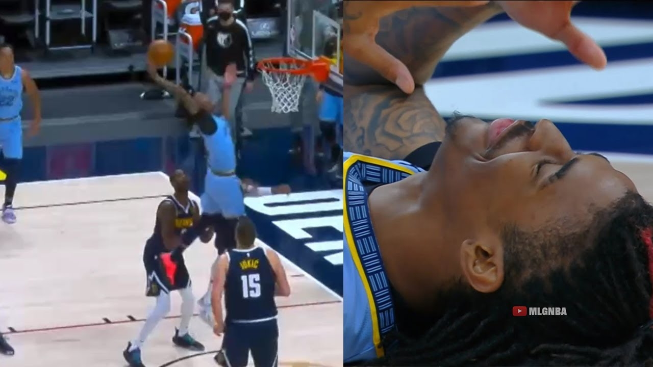 Ja Morant almost broke the league with this dunk for the win | Nuggets vs Grizzlies