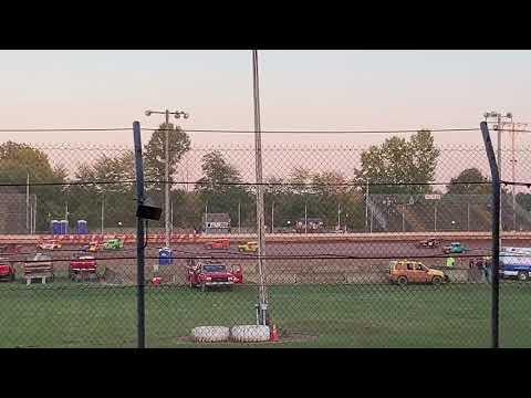 sharon speedway 9/20/19 Applefest heatrace