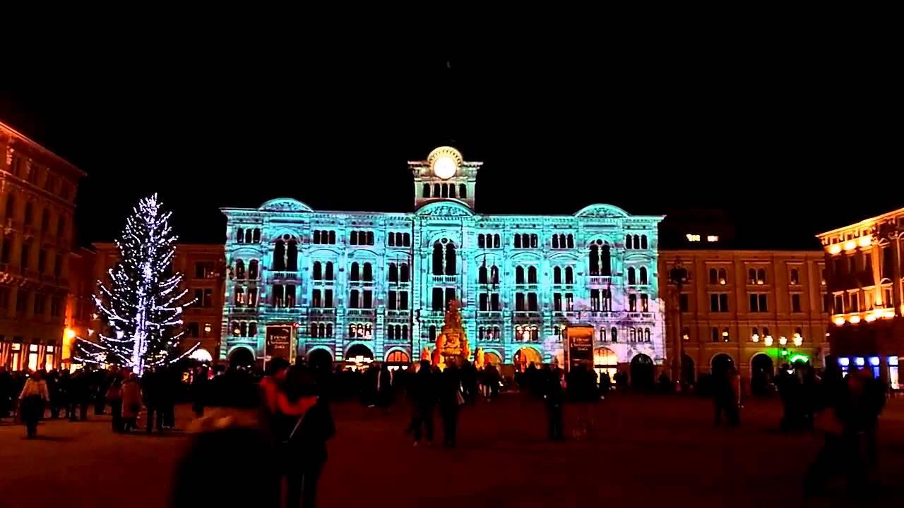 Trieste Natale Immagini.Trieste Natale 2015 Animazione Piazza Unita D Italia