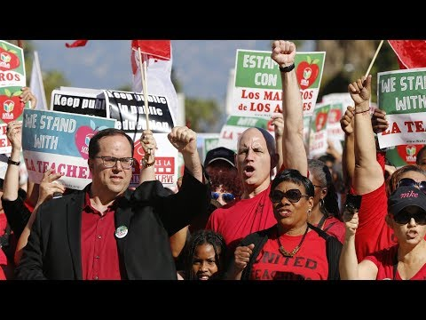 Bootleg Kev - LA Teachers Demand Higher Pay, Lower Class Sizes During Strike