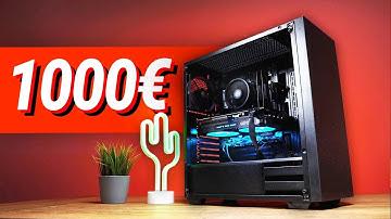 1000€ Euro GAMING PC!! - Test & Zusammenbauen (2020)