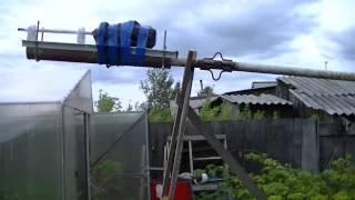 видео Узел элевации и поворота антенн