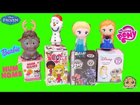 Disney Frozen Queen Elsa Ornaments + Funko Mystery Mini Blind Bags MLP , Tokidoki, Numnoms
