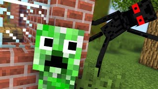 Monster School : ENDERMAN BECAME VILLAIN EVIL - RIP Minecraft Animation