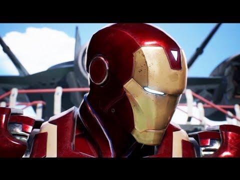 Iron Man, Mega Man X and Zero Team Shot Scene (Marvel vs Capcom: Infinite)