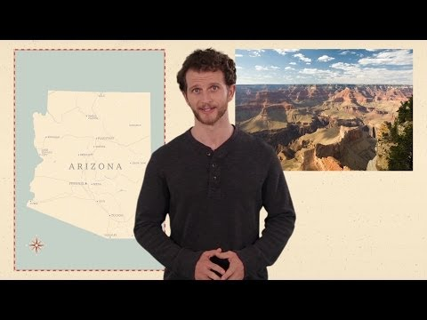 Arizona - 50 States - US Geography