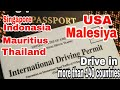 International Driving licence/Permit and Process