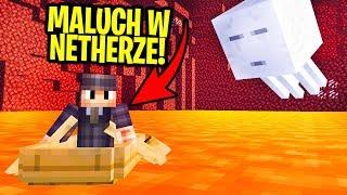 Czy da się PRZEŻYĆ w NETHERZE Będąc 100 RAZY MNIEJSZYM?? - Mini Minecraft