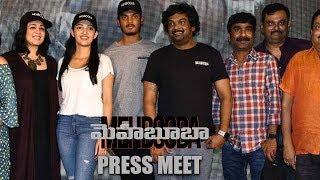 Mehbooba Press Meet    Puri Jagannadh, Akash Puri, Neha Shetty