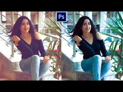 Easy color correction in Photoshop cc hindi tutorial thumbnail