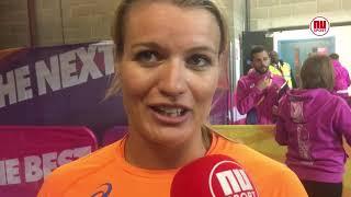 Dafne Schippers na WK-goud op 200 meter: 'Ik weet dat ik een vechter ben'