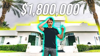 Renting a YouTube Mansion in Las Vegas (How Much It Cost)