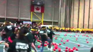 U of A Dodgeball Guinness World Record 2011