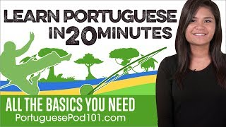 Baixar Learn Portuguese in 20 Minutes - ALL the Basics You Need